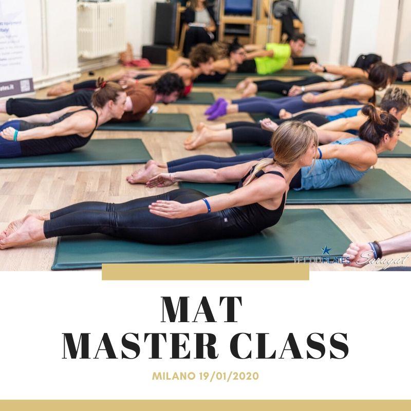 Mat Masterclass Pilates