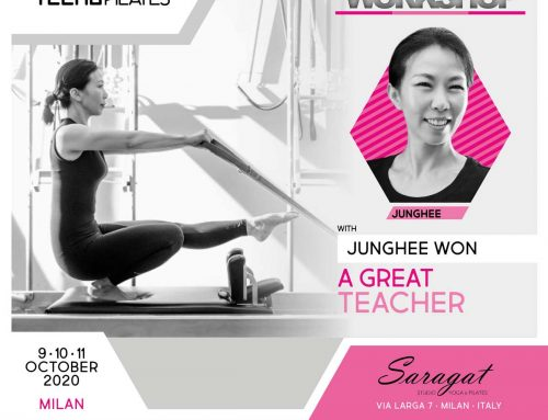8-9-10 Ottobre 2020: Traditional Pilates Workshop con Junghee Won – Livello Avanzato.
