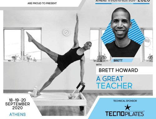 Traditional Pilates Workshop Atene con Brett Howard / SPOSTATO AL 2021